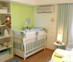 Cuidados Especiais Com o Ar Condicionado No Quarto Do Bebê